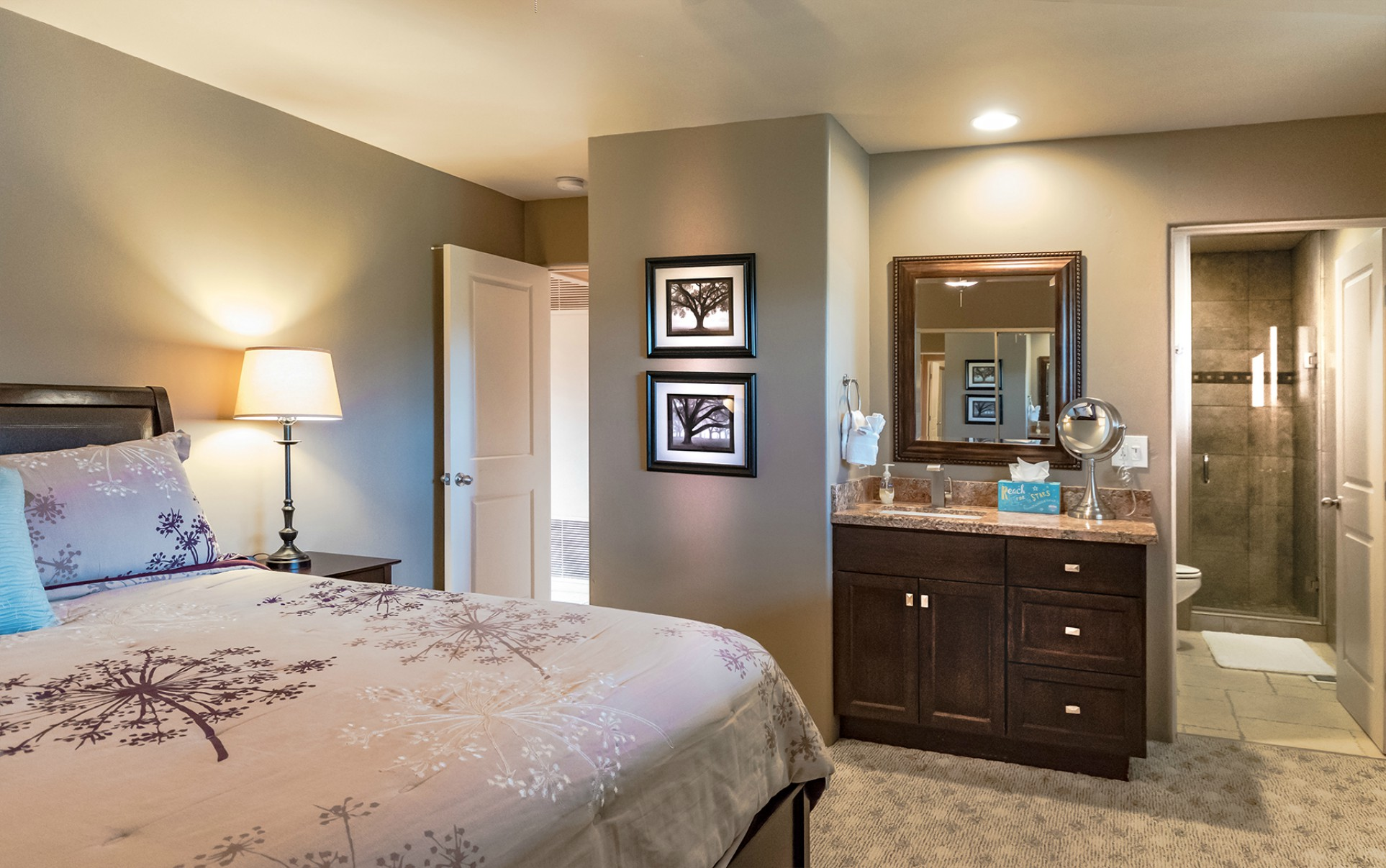 Vista Ridge Sunset Suite - Master Bath